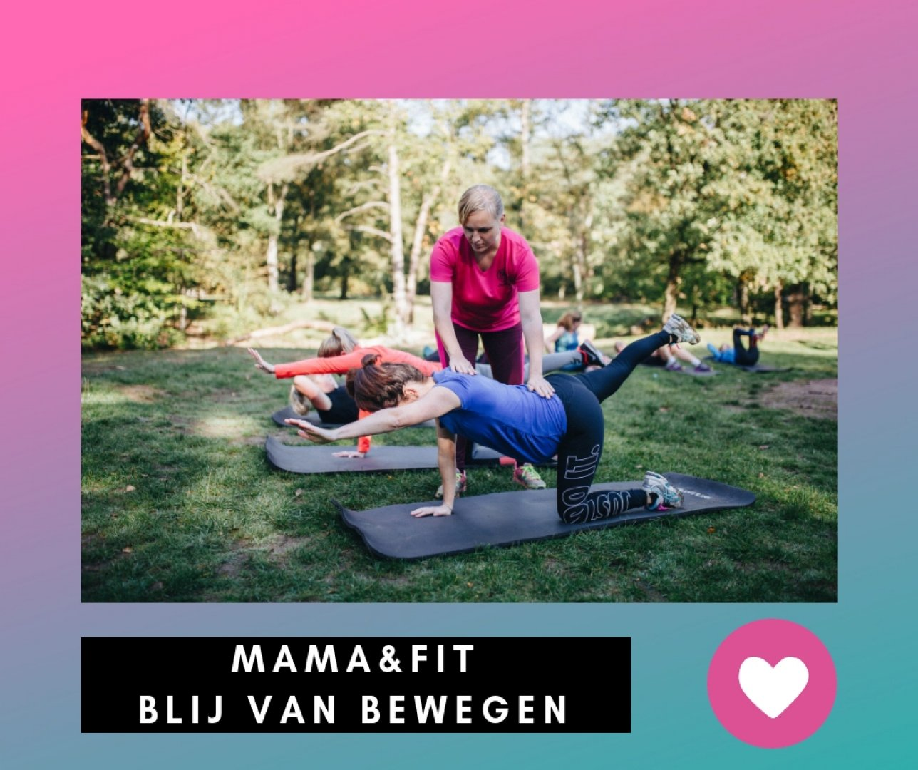 Afbeelding bij de blog Zwangerschap en sporten gaan heel goed samen!